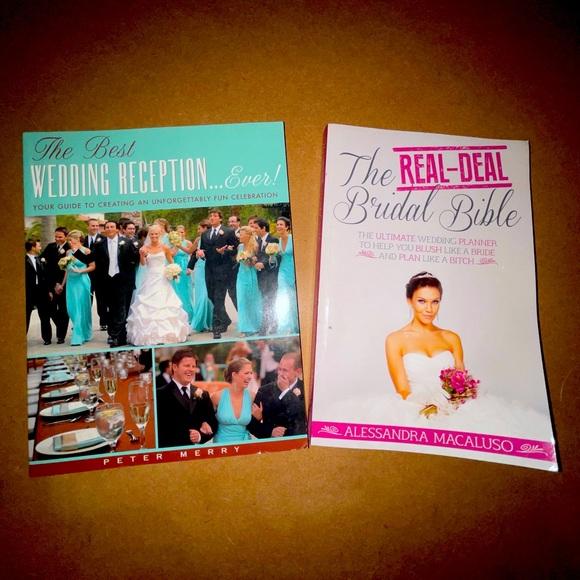 Wedding planning book bundle